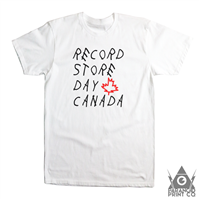 RECORD STORE DAY CANADA WOES T-SHIRT