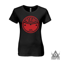 RECORD STORE DAY CANADA STICKER WOMEN'S T-SHIRT