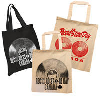 RECORD STORE DAY CANADA TOTE BAGS