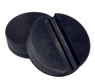 Hockey Puck (Black Phone Holder) Design Online or Upload Your Design