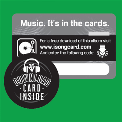 Music Download Cards (powered by iSongCard)
